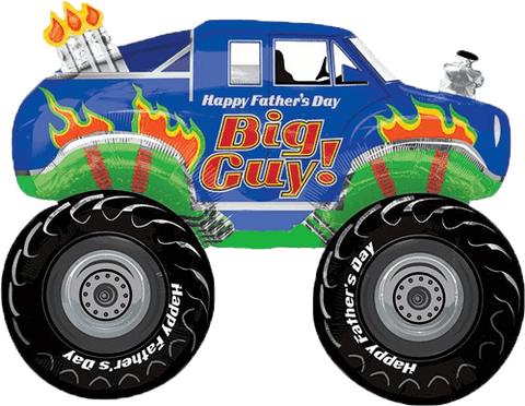 Father's Day Monster Truck 31''