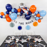 OUTER SPACE DIY BALLOON GARLAND KIT 6FT