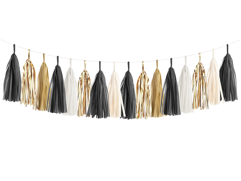 Black Tie Garland Kit