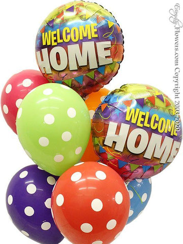 Welcome Home Polka Dot Latex Bouquet Set