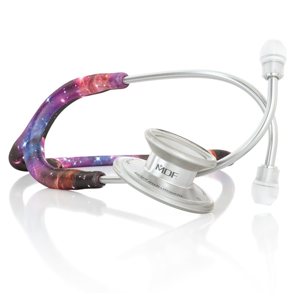 MDF® MD One® Adult Stainless Steel Stethoscope - Silver - Galaxy