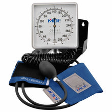 Load image into Gallery viewer, MDF® Desk & Wall Aneroid Sphygmomanometer - Bright Blue
