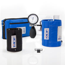 Load image into Gallery viewer, MDF® Bravata® Palm Aneroid Sphygmomanometer - Bright Blue