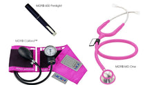 Load image into Gallery viewer, MDF® Calibra® MD One® Suite - MD One® Stethoscope, Calibra® Aneroid Sphygmomanometer, POCKET iLLUMiNATOR™ Professional Diagnostic Penlight (MDF808M32KT1)