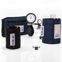 Load image into Gallery viewer, MDF® Bravata® Palm Aneroid Sphygmomanometer - Navy Blue