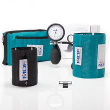 Load image into Gallery viewer, MDF® Bravata® Palm Aneroid Sphygmomanometer - Teal