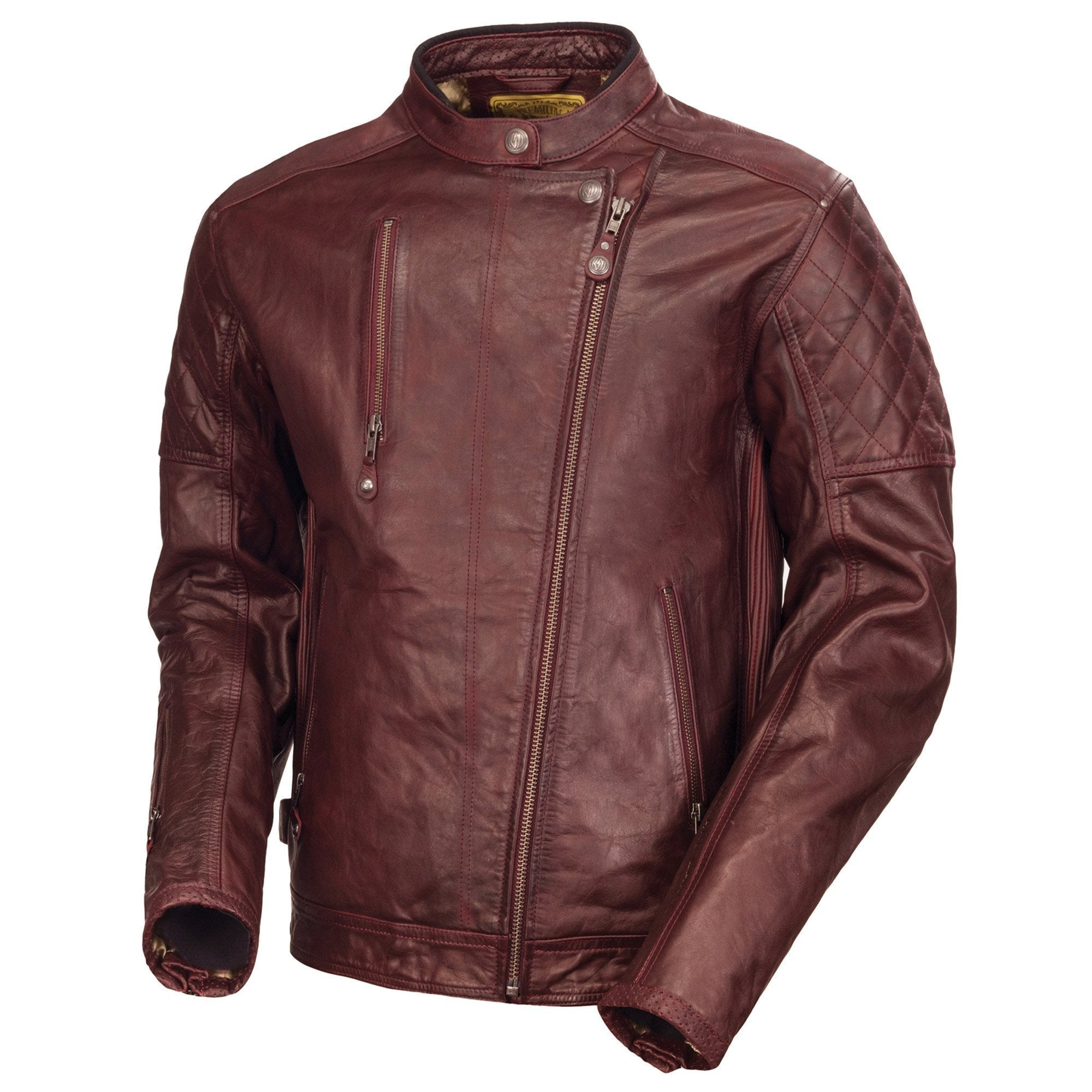 Design Clash Leather Jacket