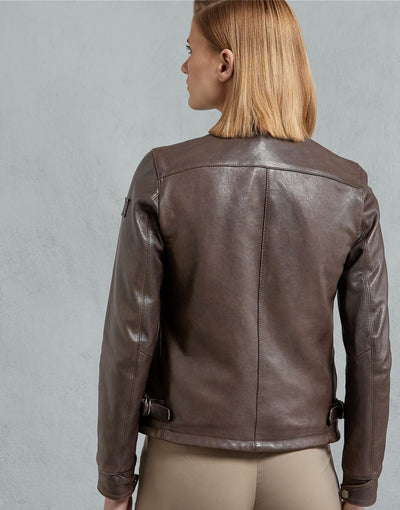 Cooper Brown Leather Jacket