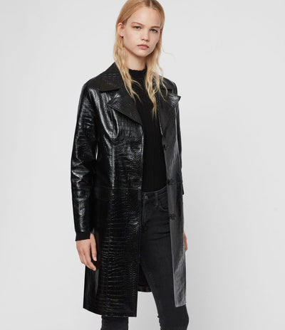 Ali Mac Black Leather Jacket
