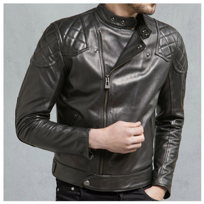 Belstaff Ivy Bull Leather Jacket