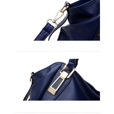 Women Premium Faux-Leather Messenger Cross-body Handbag