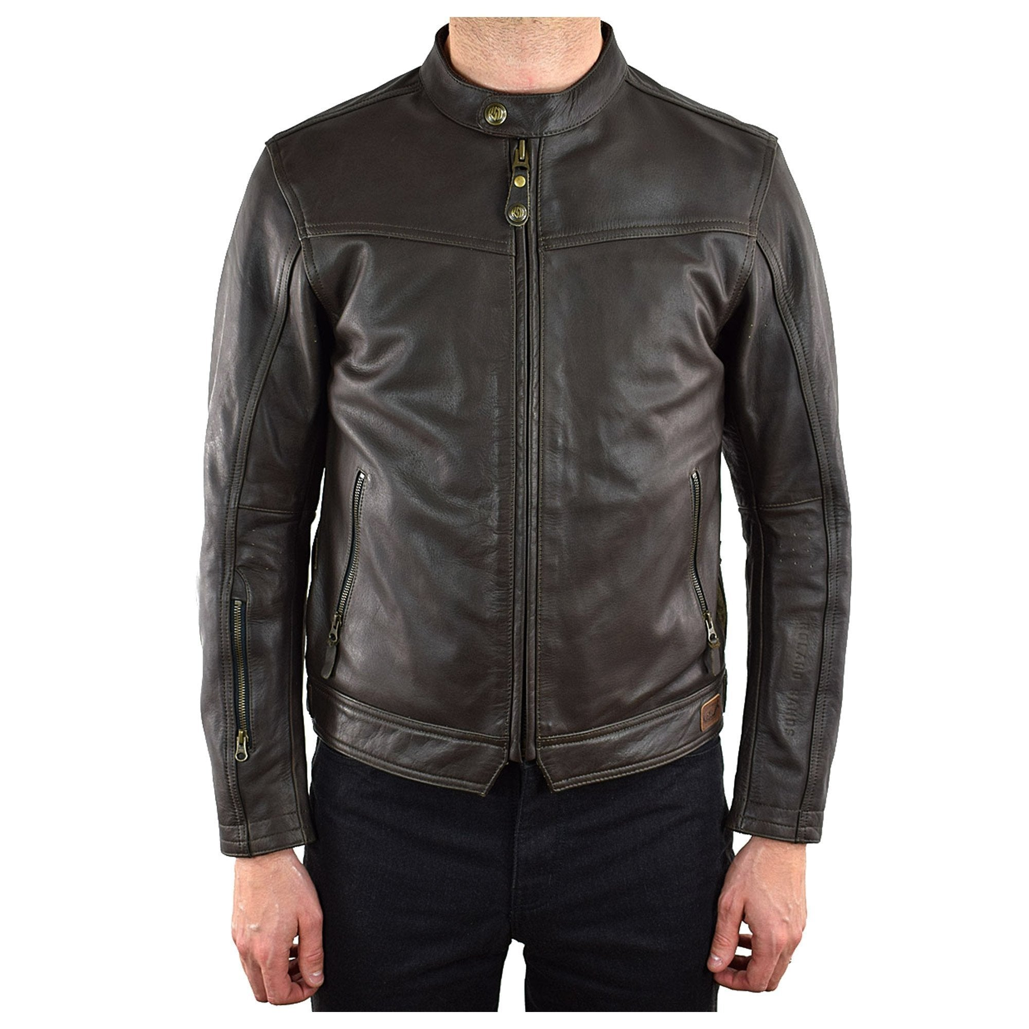 Dinmaller Walker Leather Jacket