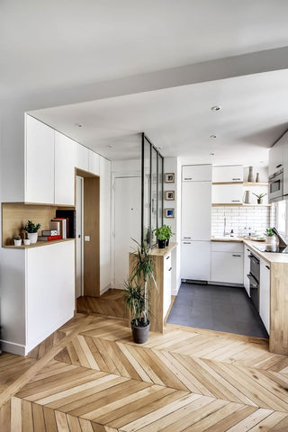 Spacial planning with a small kitchen