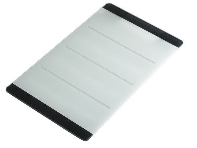 Glass Chopping Board, Line