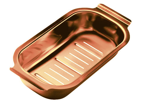 Strainer Bowl, Line copper