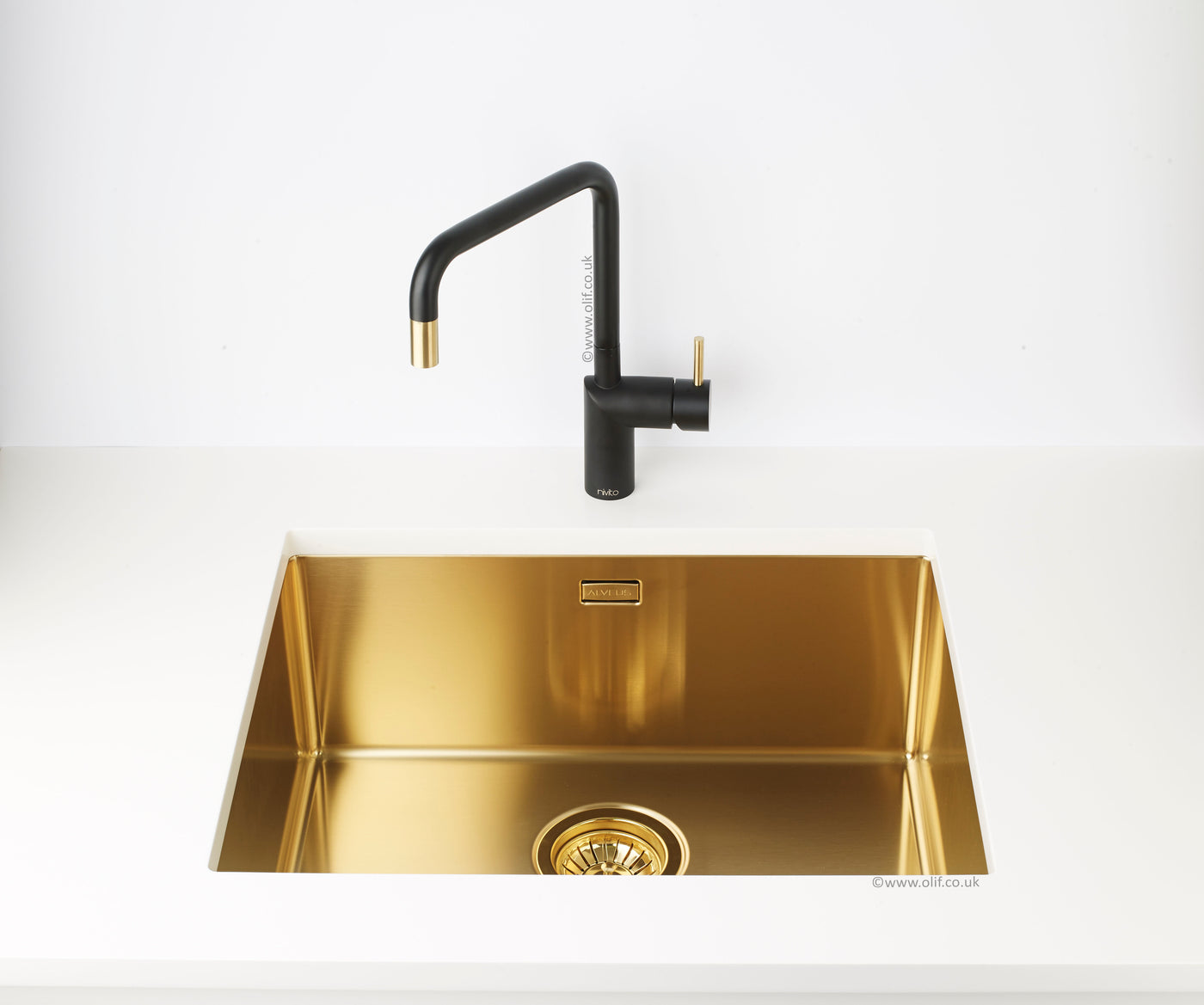 Brass Undermount Sink