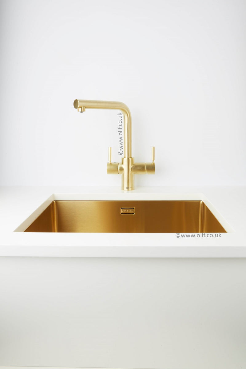 Brass finish Boiling Water tap