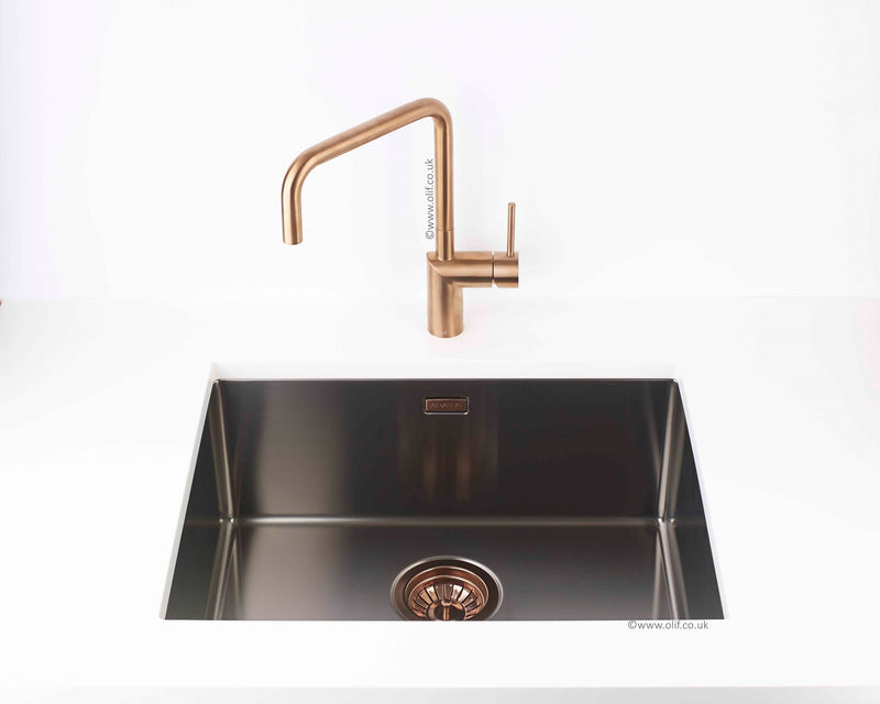 Alveus Monarch Quadrix 50 Anthracite MIX & MATCH, flush/slim/undermount sink