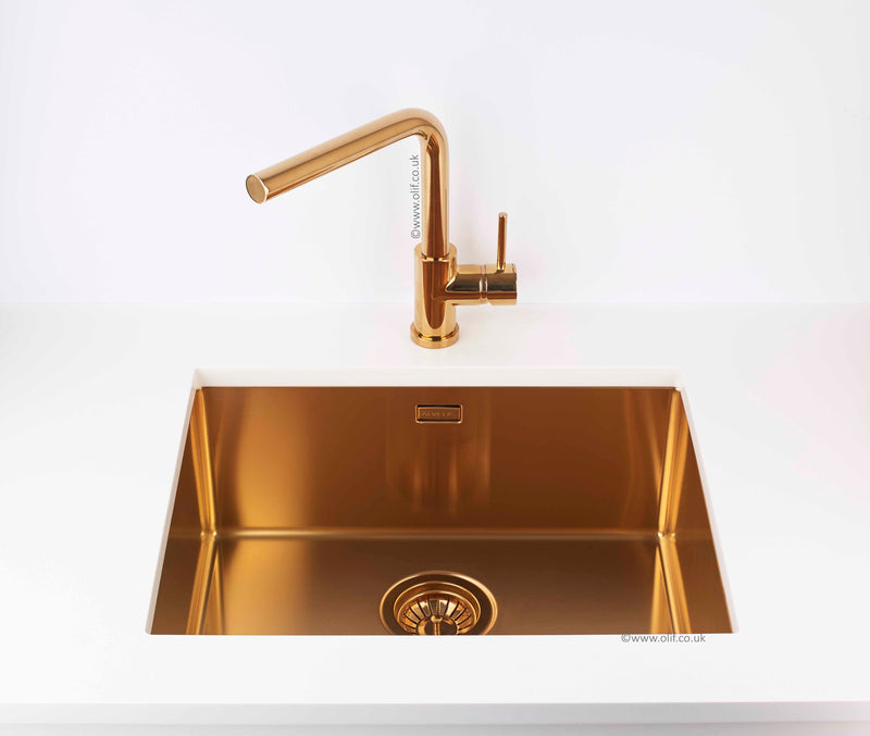 Alveus Toro Bronze, kitchen mixer tap, Monarch collection