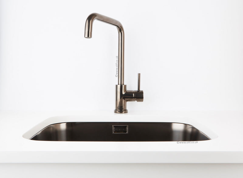 Alveus Delfino Anthracite MIX & MATCH kitchen mixer tap, Monarch collection