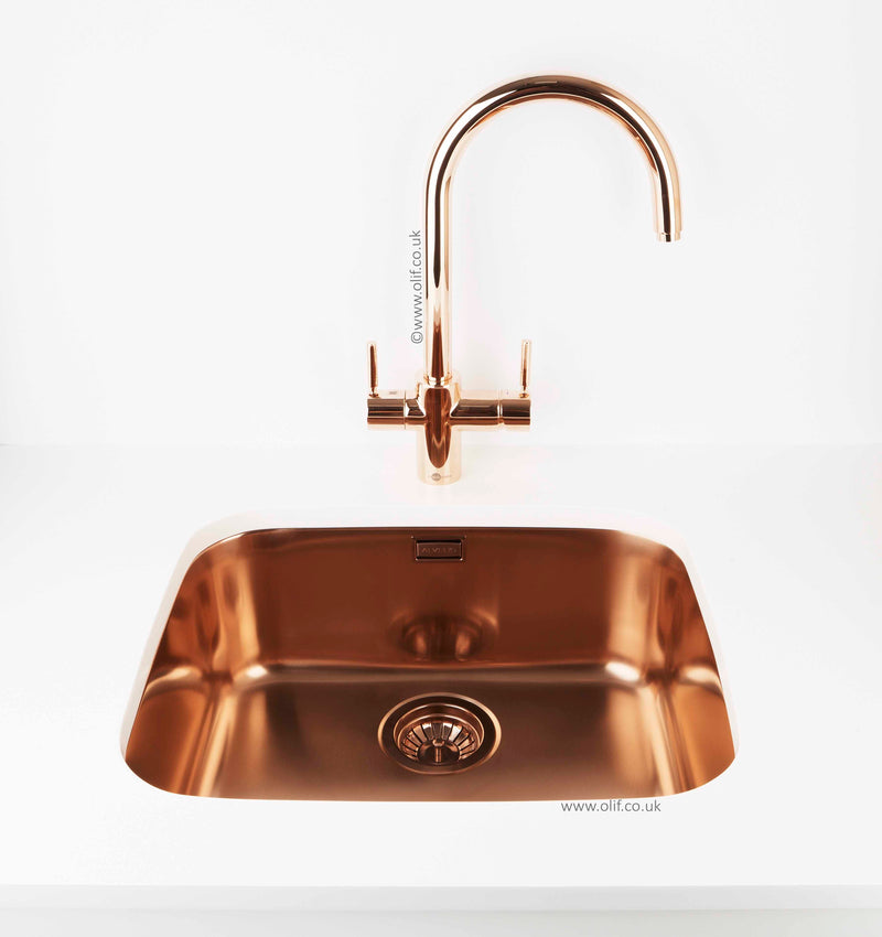 InSinkErator 3n1 Steaming Hot Water tap Rose Gold (contact us for price)