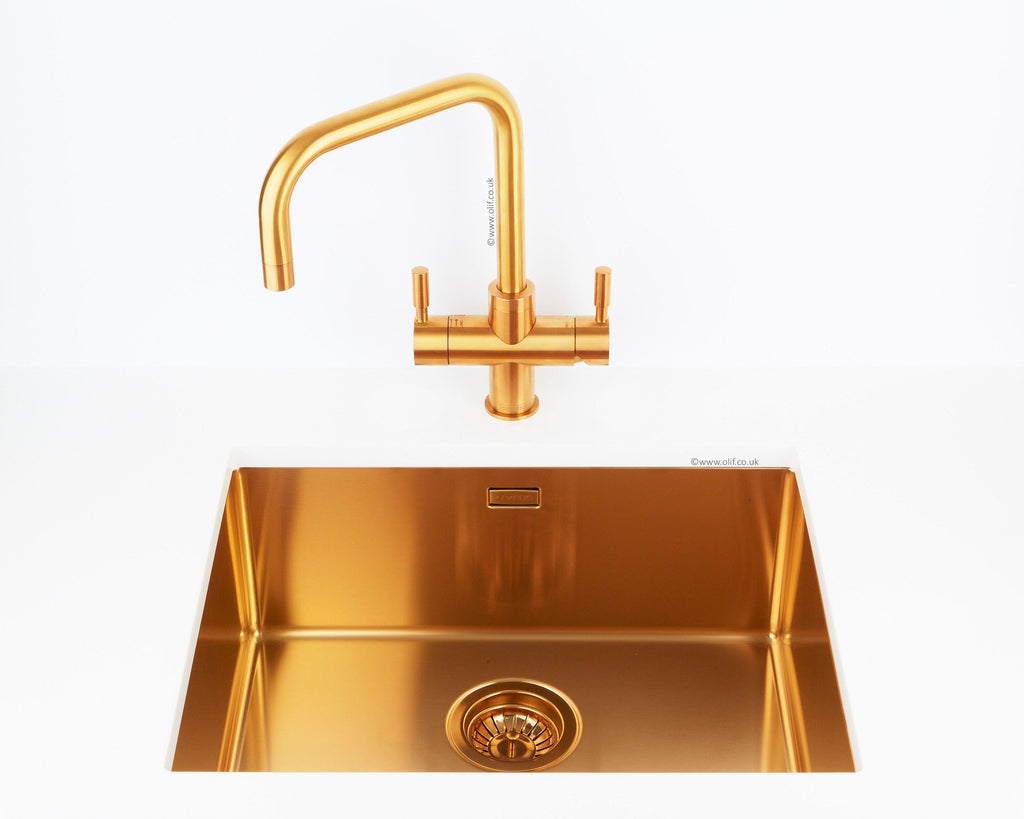 Franke Omni Contemporary 4-n-1 Boiling Water tap Bronze