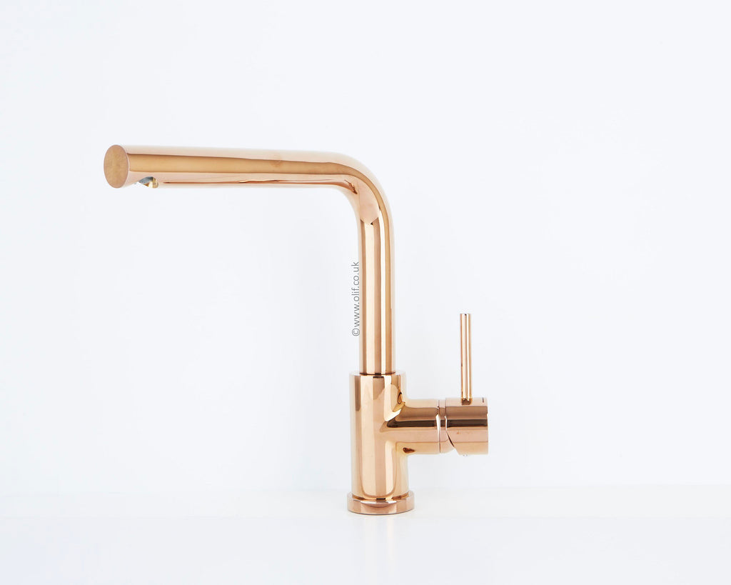 Alveus Toro Copper, kitchen mixer tap, Monarch collection