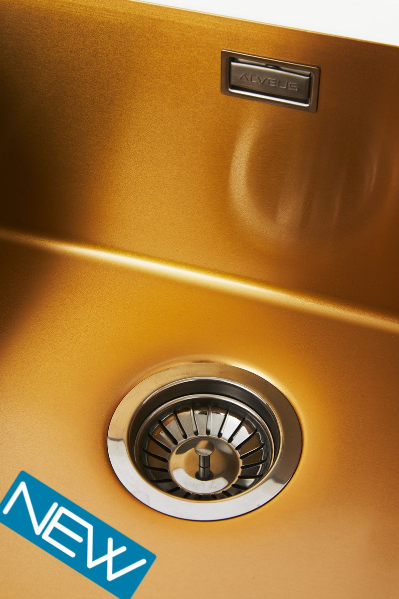 Alveus Nano 50 Copper/Anthracite undermount sink