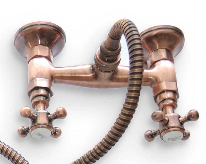 Antique Copper plated shower