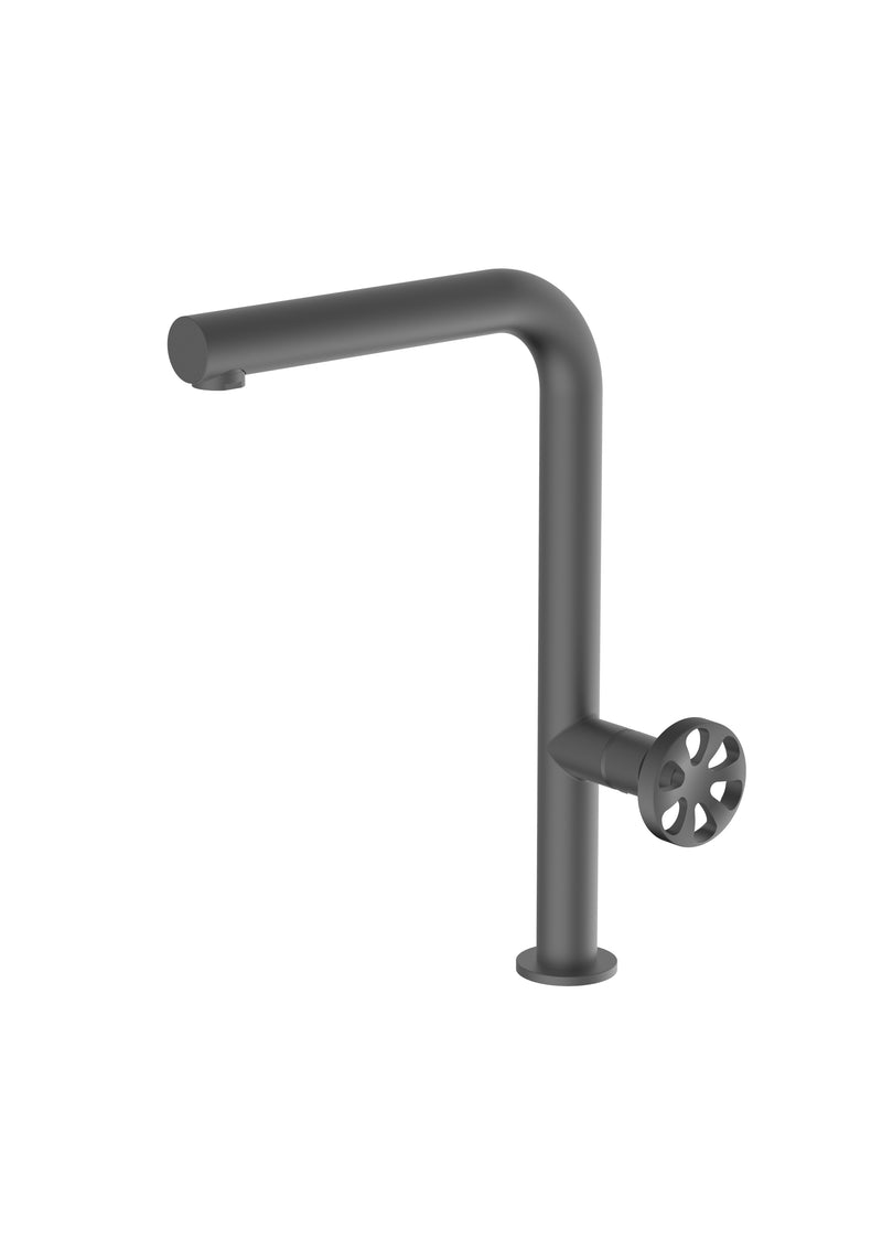 Potento Anthracite, kitchen mixer tap
