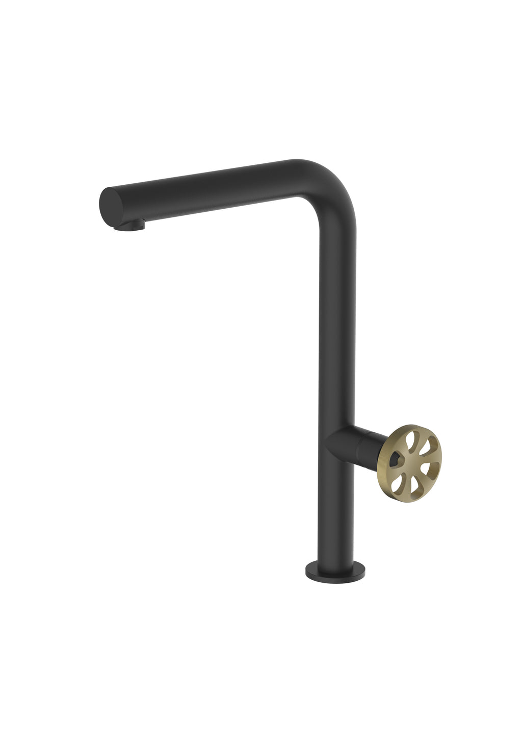 Potento Matte Black Mix & Match, kitchen mixer tap