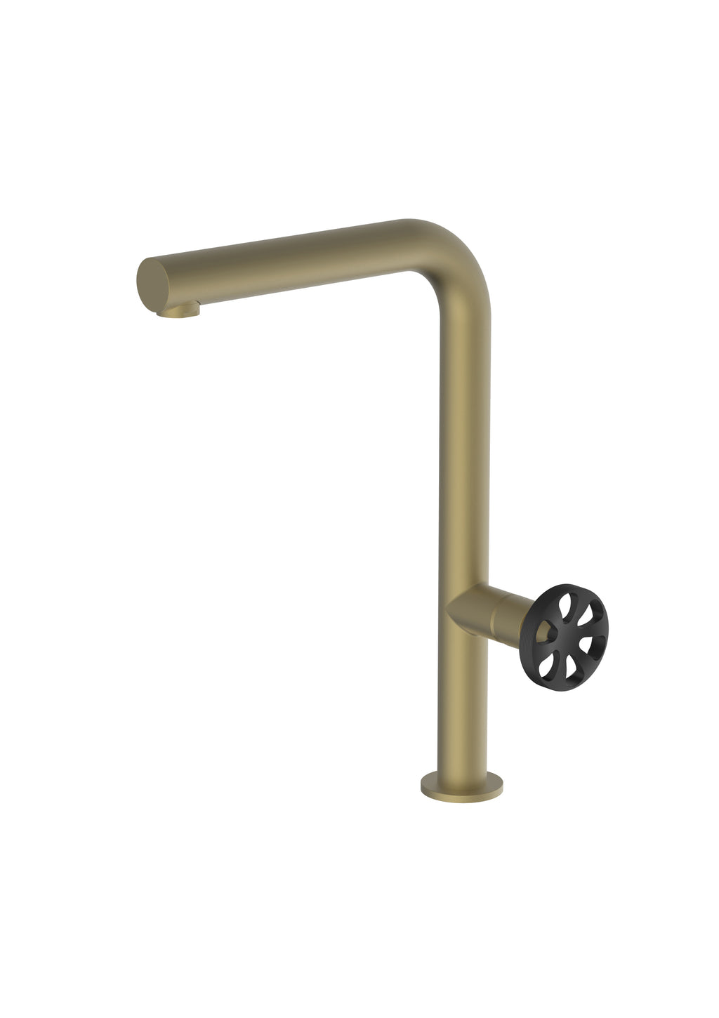 Potento Brass/Gold Mix & Match, kitchen mixer tap