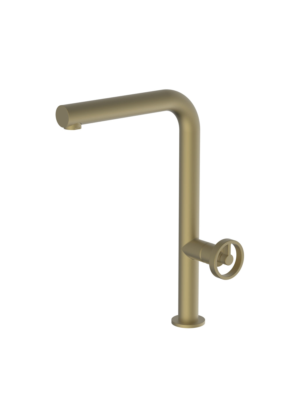 Potento Brass/Gold, kitchen mixer tap