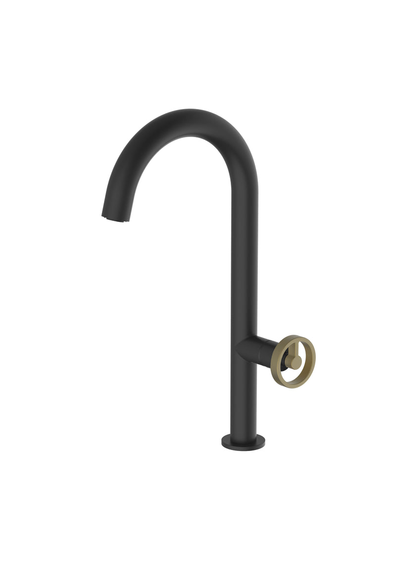 Forte Matte Black Mix & Match, kitchen mixer tap