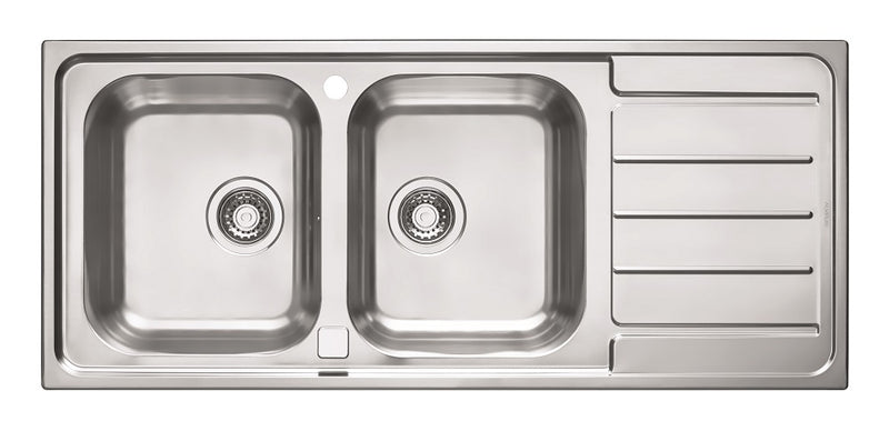 Alveus Line Maxim 100, flush or flat-mount sink