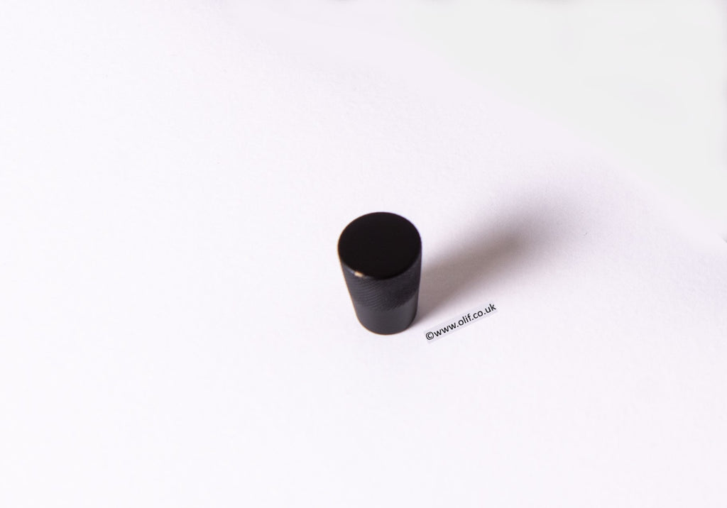 Olif Cabinet Handle Knob Matte Black