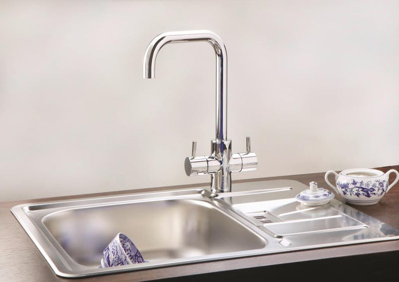 Alveus Duplex Chrome, kitchen mixer tap