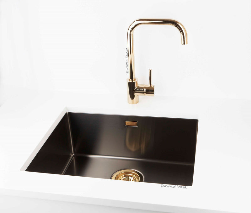 Alveus Monarch MIX & MATCH Quadrix 20 Anthracite, flush/flat/undermount sink