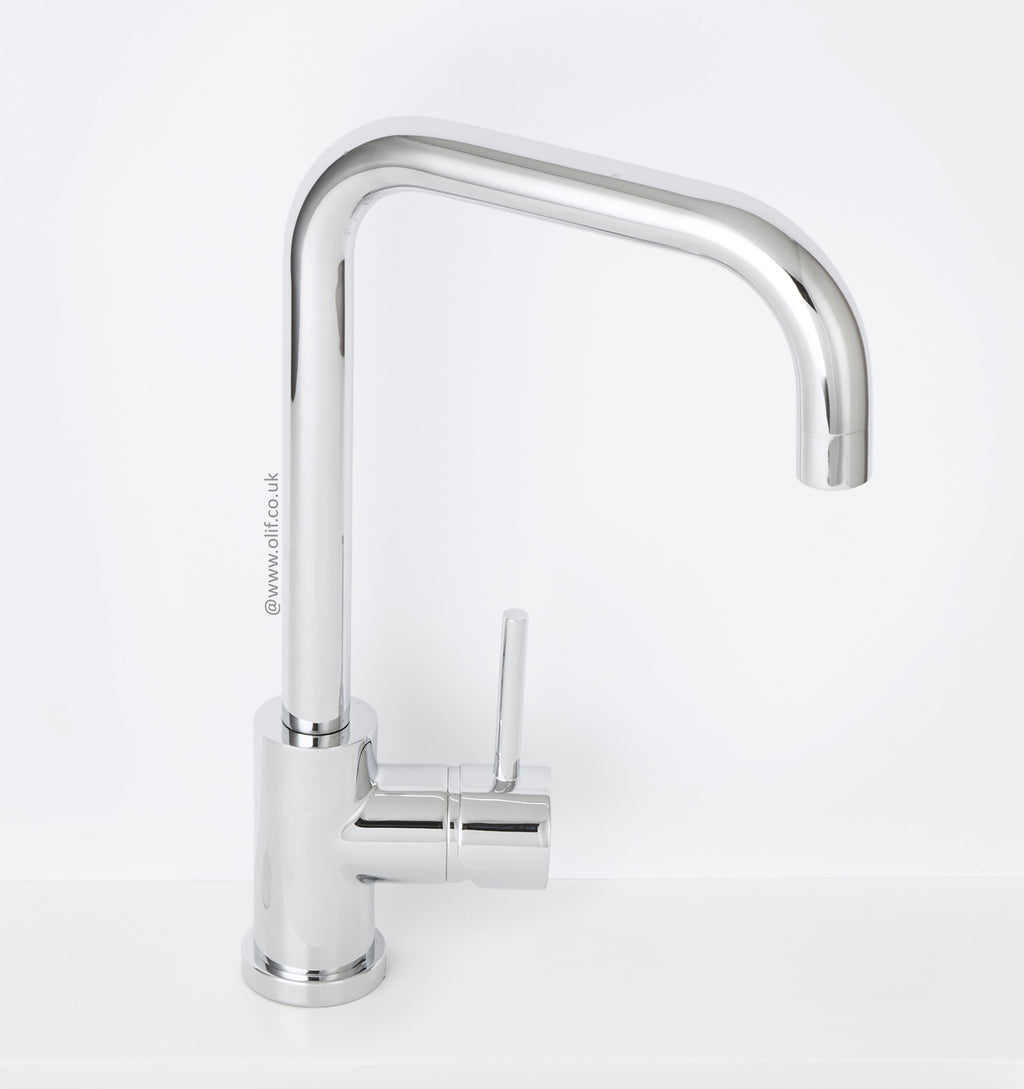 Alveus Delfino Chrome, kitchen mixer tap