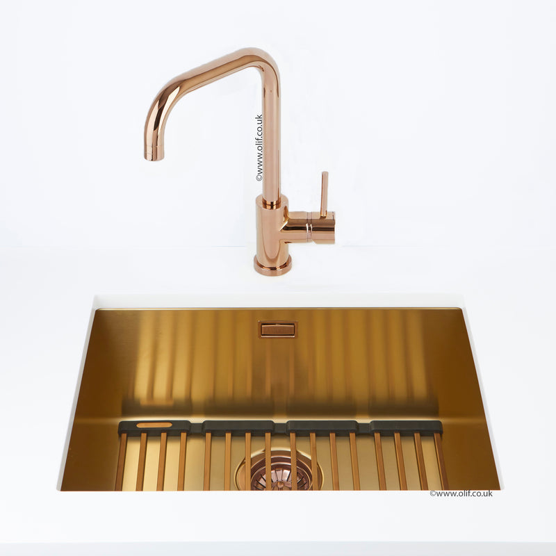 Alveus Monarch Quadrix 50 Gold MIX & MATCH sink