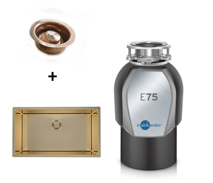 InSinkerator Evolution 75 BRONZE food waste disposer