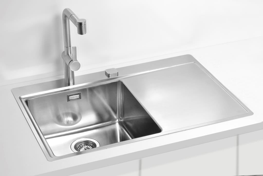 Alveus Pure 40, flush or flat-mount sink