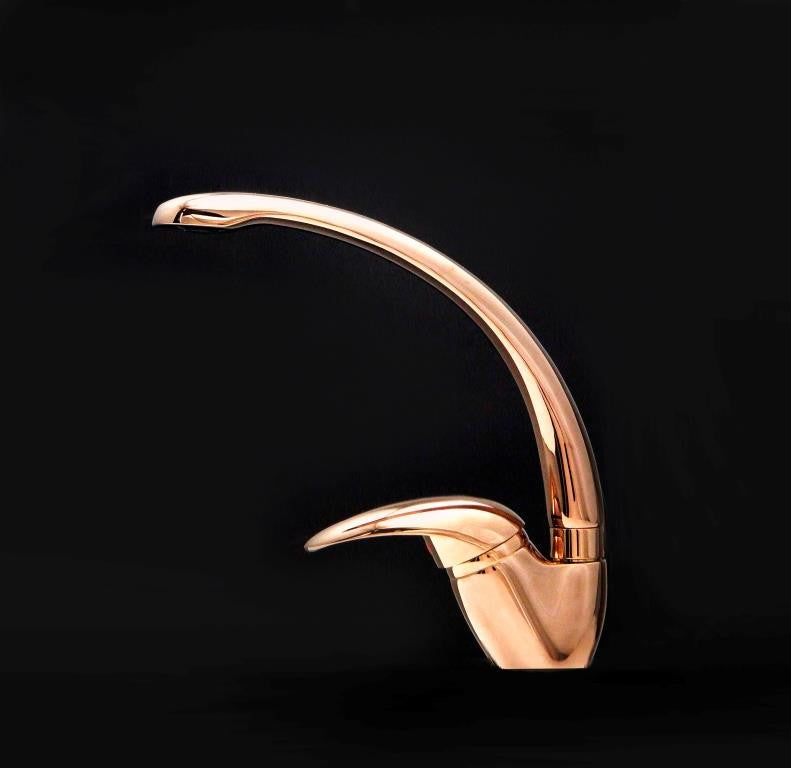 Alveus Monarch Fontana Copper, kitchen mixer tap