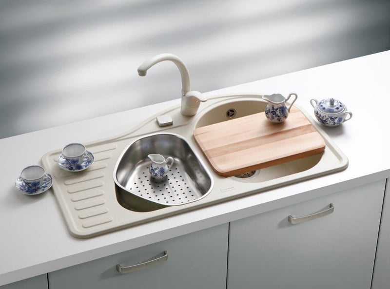 composite kitchen sinks uk composite granite kitchen sink uk alveus futur 5663