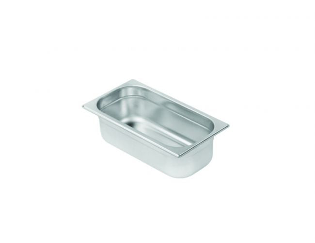 Gastronorm Pan GN 1/3, stainless steel