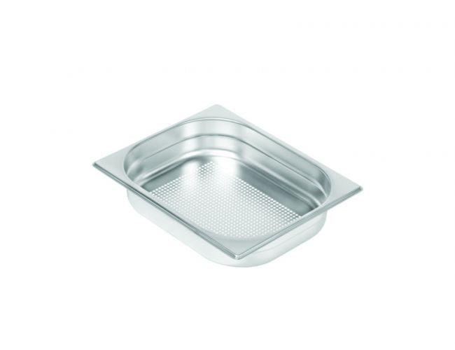Gastronorm Pan GN 1/2-P, stainless steel