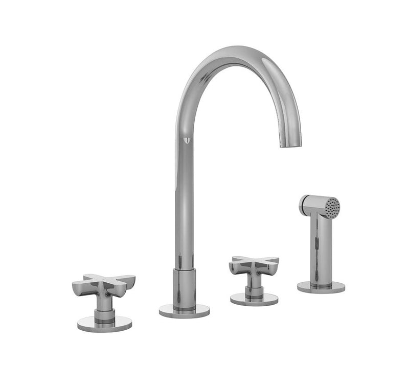 Fantini Icona Classic, kitchen mixer tap with handshower