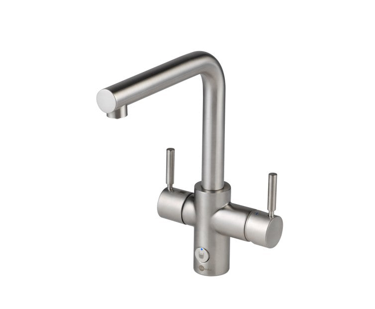 InSinkErator 4n1 Touch L tap with boiler, Brushed Steel finish