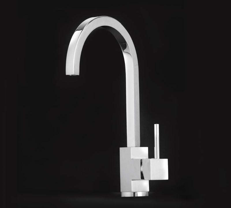 Alveus Lago Chrome, kitchen mixer tap