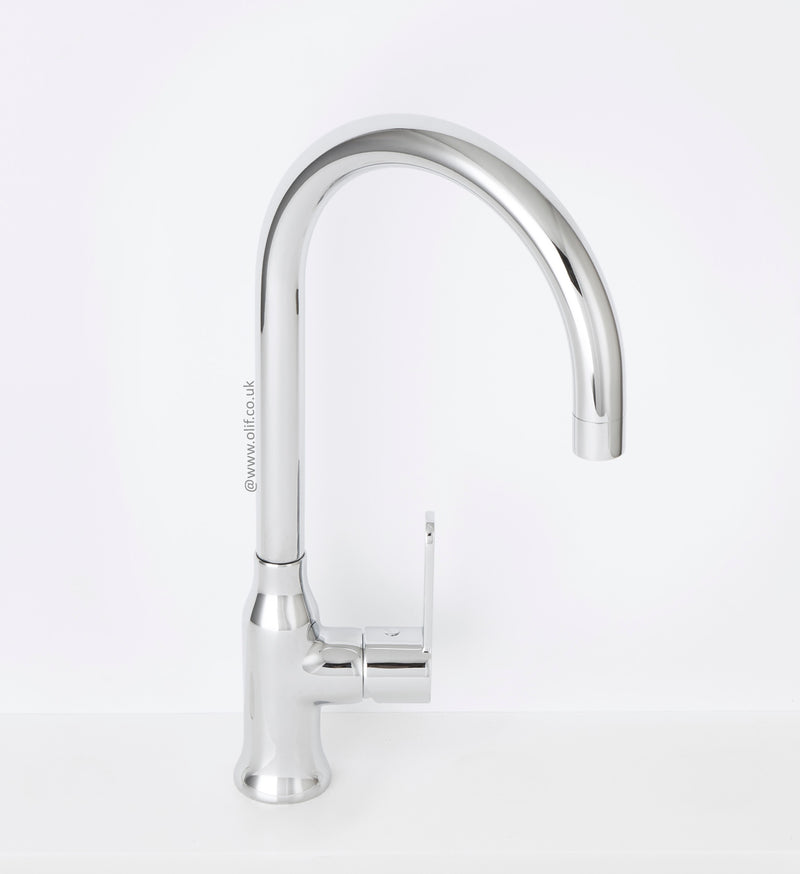 Alveus Leo Chrome, kitchen mixer tap